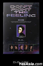 EXO Special Album - DON'T FIGHT THE FEELING (Expansion Version) (D.O Version) + Random Poster in Tube (Expansion Version)