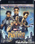 Black Panther (2018) (4K Ultra HD + Blu-ray) (Hong Kong Version)