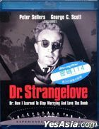 Dr. Strangelove Or: How I Learned To Stop Worrying And Love The Bomb (1964) (Blu-ray) (Hong Kong Version)
