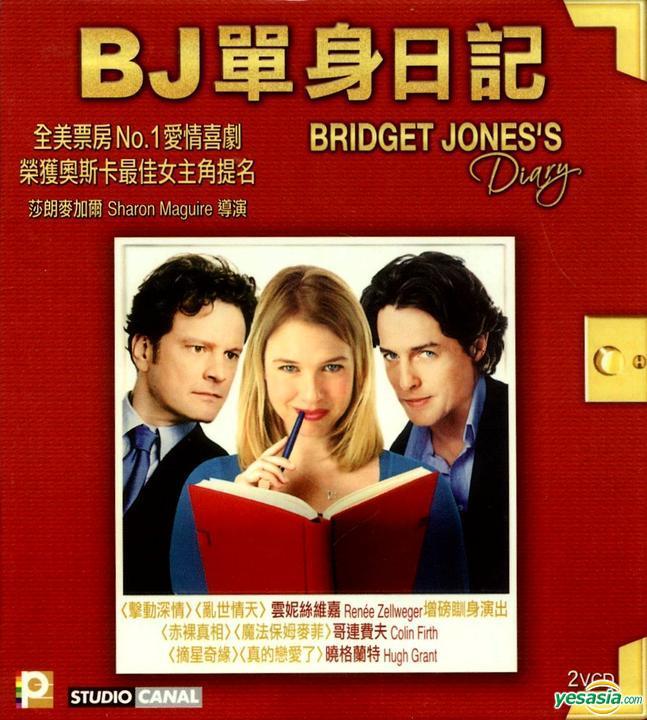 Yesasia Bridget Jones S Diary 2001 Vcd Hong Kong Version Vcd Renee Zellweger Hugh Grant Panorama Hk Western World Movies Videos Free Shipping