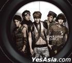 Super Junior Vol. 5 - Mr. Simple (Type B) + Poster in Tube (Type B)