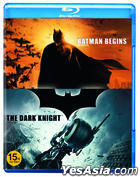 Batman Begins + Dark Knight (Blu-ray) (2-Disc) (Limited Edition) (Korea Version)