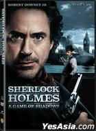 Sherlock Holmes: A Game of Shadows (2011) (DVD) (Hong Kong Version)
