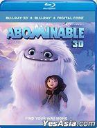 Abominable (2019) (Blu-ray 3D + Blu-ray + Digital Code) (US Version)