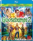 Goosebumps 2: Haunted Halloween (2018) (Blu-ray + DVD + Digital) (US Version)