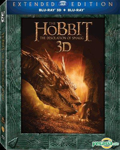 Yesasia The Hobbit The Desolation Of Smaug 2013 Blu Ray 2d 3d 5 Disc Extended Edition Hong Kong Version Blu Ray Martin Freeman Richard Armitage Warner Home Video Hk Western