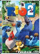 Rio 2 (2014) (DVD) (Hong Kong Version)