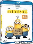 Minions (2015) (Blu-ray) (2D) (Hong Kong Version)