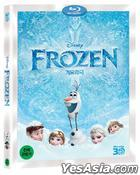 Frozen (Blu-ray) (3D) (Korea Version)