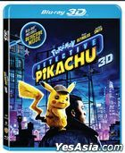 POKÉMON Detective Pikachu (2019) (Blu-ray) (2D + 3D) (Hong Kong Version)
