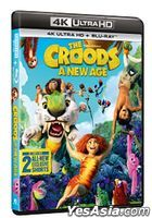 The Croods: A New Age (2020) (4K Ultra HD + Blu-ray) (Hong Kong Version)