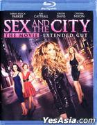 Sex And The City - The Movie (2008) (Blu-ray) (Extended Cut) (US Version)