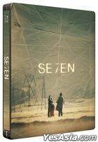 Se7en (1995) (Blu-ray) (Steelbook) (Taiwan Version)