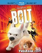 Bolt 3D (Blu-ray) (Hong Kong Version)