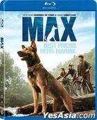 MAX (2015) (Blu-ray) (Hong Kong Version)