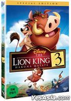 Lion King 3: Hakuna Matata (DVD) (Korea Version)
