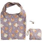 San-X 松弛熊 可摺叠环保购物袋 S (面包图案)