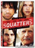 Squatters (2014) (DVD) (Korea Version)