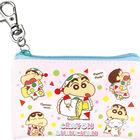 Crayon Shin-Chan Mini Flat Pouch (Pajama/Pink)