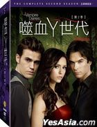 The Vampire Diaries (DVD) (The Complete Second Season) (Taiwan Version)
