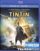 The Adventures of Tintin: The Secret of the Unicorn (2011) (Blu-ray) (2D + 3D) (Hong Kong Version)
