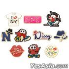 Nissy Entertainment 2nd LIVE -FINAL- in TOKYO DOME - Kore to Kore to….Um…Dore Tsukechau? Pin Collection   (Random / 1 Randomly Out of  10 Kinds)