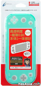 Nintendo Switch Premium Protect Cover (Clear Turquoise) (Japan Version)