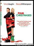 Four Christmases (DVD) (Hong Kong Version)