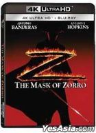 The Mask Of Zorro (1998) (4K Ultra HD + Blu-ray) (Hong Kong Version)