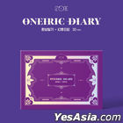 IZ*ONE Mini Album Vol. 3 - Oneiric Diary (3D Version) + 2 Posters in Tube