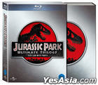 Jurassic Park Ultimate Trilogy (Blu-ray) (3-Disc) (First Press Limited Edition) (Korea Version)