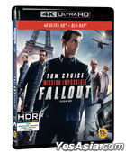 Mission: Impossible - Fallout (4K Ultra HD + Blu-ray) (2-Disc) (Korea Version)