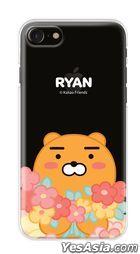 Kakao Friends - Flower Clear Jelly Case (Ryan / Flower Field) (Galaxy S9+)