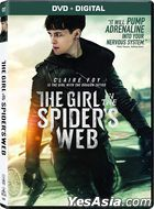 The Girl in the Spider's Web (2018) (DVD + Digital) (US Version)