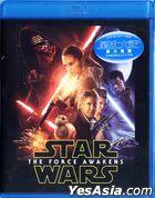 Star Wars: The Force Awakens (2015) (Blu-ray) (Hong Kong Version)