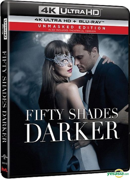 Yesasia Fifty Shades Darker 2017 4k Ultra Hd Blu Ray Unmasked Edition Hong Kong Version Blu Ray Dakota Johnson Jamie Dornan Intercontinental Video Hk Western World Movies Videos Free Shipping