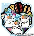 Natsume Yujincho : Kirie Series Accessory Stand Triple Nyanko-sensei A Lantern