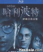 Harry Potter Standard BD Boxset Years 1-7B (11 Blu-ray) (Taiwan Version)
