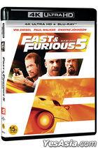 Fast Five (4K Ultra HD + Blu-ray) (2-Disc) (Limited Edition) (Korea Version)
