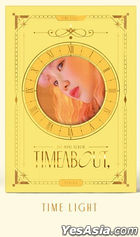 YUKIKA Mini Album Vol. 1 - Timeabout (Time Light Version) + Poster in Tube (Time Light Version)