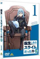 That Time I Got Reincarnated as a Slime 2nd Season Vol.1 (DVD)(Japan Version)