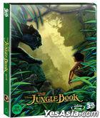 The Jungle Book (2D + 3D Combo Blu-ray) (2-Disc) (Steelbook Limited Edition) (Korea Version)