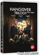 The Hangover Trilogy (DVD) (3-Disc) (Korea Version)