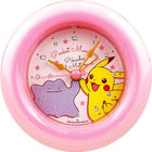 Pokemon Round Alarm Clock (Pikachu & Metamon)