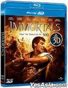 Immortals (2011) (Blu-ray) (3D) (Hong Kong Version)