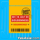 Golden Child Single Album Vol. 1 - Goldenness (Random Version) + 2 Posters in Tube