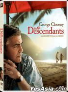 The Descendants (2011) (DVD) (Hong Kong Version)