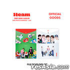 1TEAM '2nd Mini Album Mini Photo Exhibition + Cafe' Official Goods - File Envelope Set