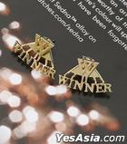 Winner Style - Twoway Simple Logo Earrings (Gold)