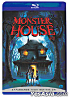 Monster House (2006) (Blu-Ray) (Korean Version)